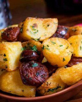 Potato, Chorizo & Green Chilli